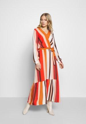 MELANY - Day dress - poinciana combo