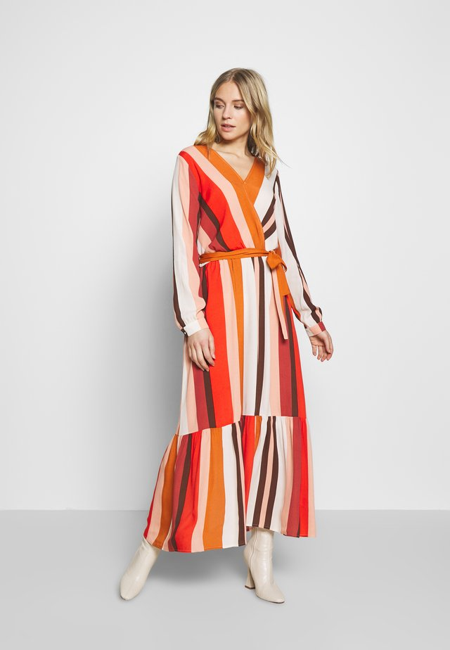 MELANY - Vestido informal - poinciana combo