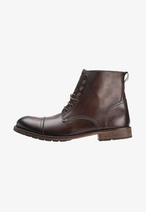 TRAVIS - Lace-up ankle boots - brown