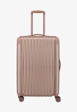 BARBARA  - Wheeled suitcase - light pink