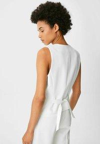 C&A - Waistcoat - white - 2