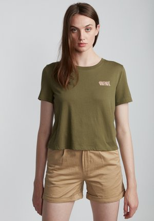 BRANDED  - T-shirt print - army
