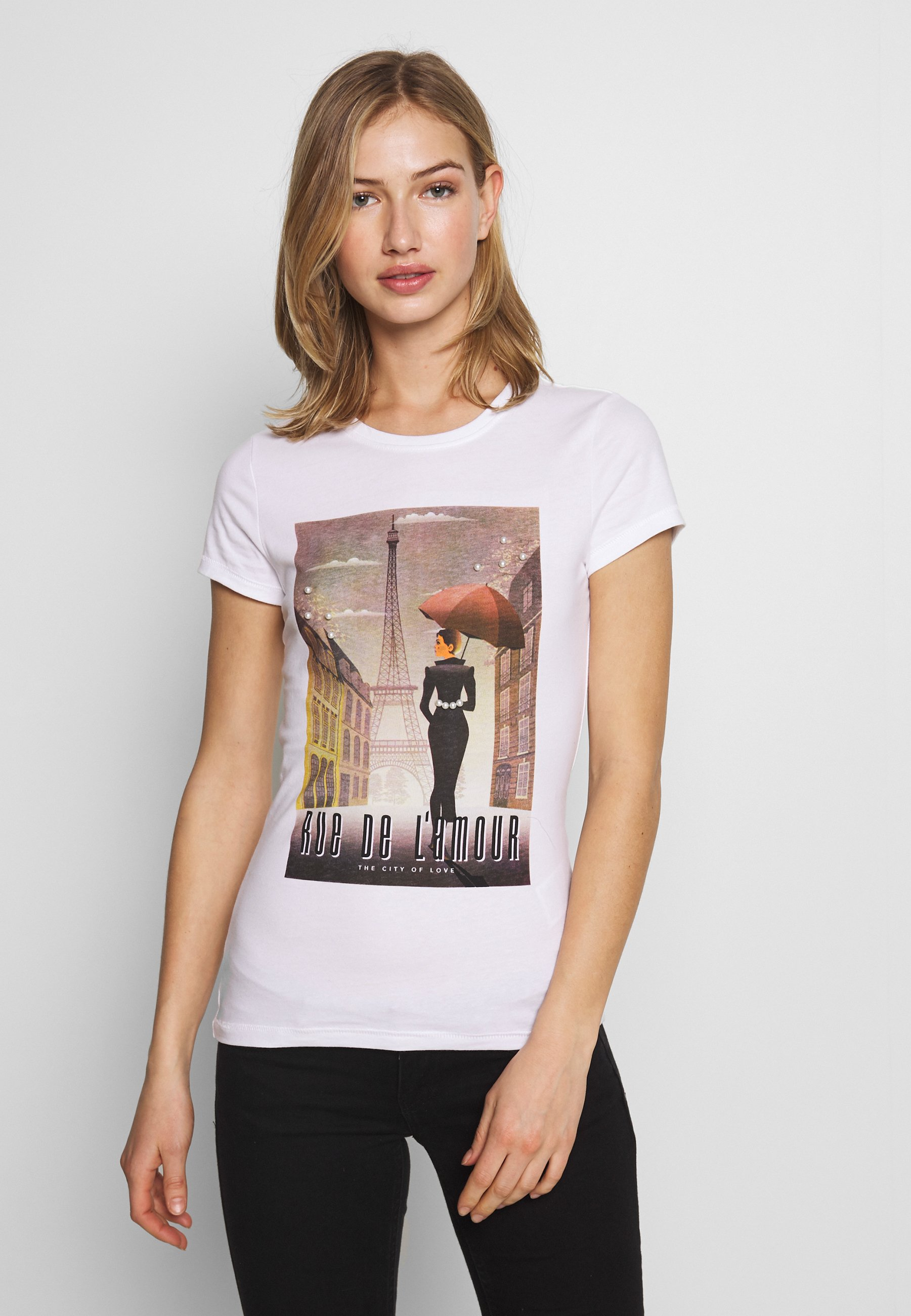 Damen ONLCINDY FIT BOX - T-Shirt print