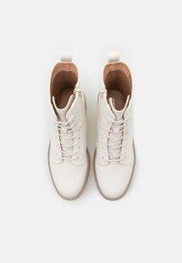 Even&Odd - Platform ankle boots - white - 5