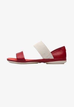 RIGHT NINA - Sandaalit nilkkaremmillä - red