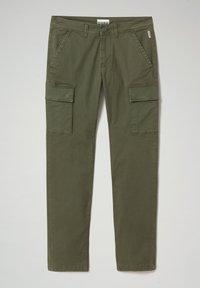 Napapijri - MOTO WINT - Cargo trousers - green depths - 6