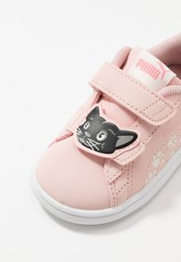 Puma - SMASH ANIMALS - Trainers - peachskin/vaporous gray - 2
