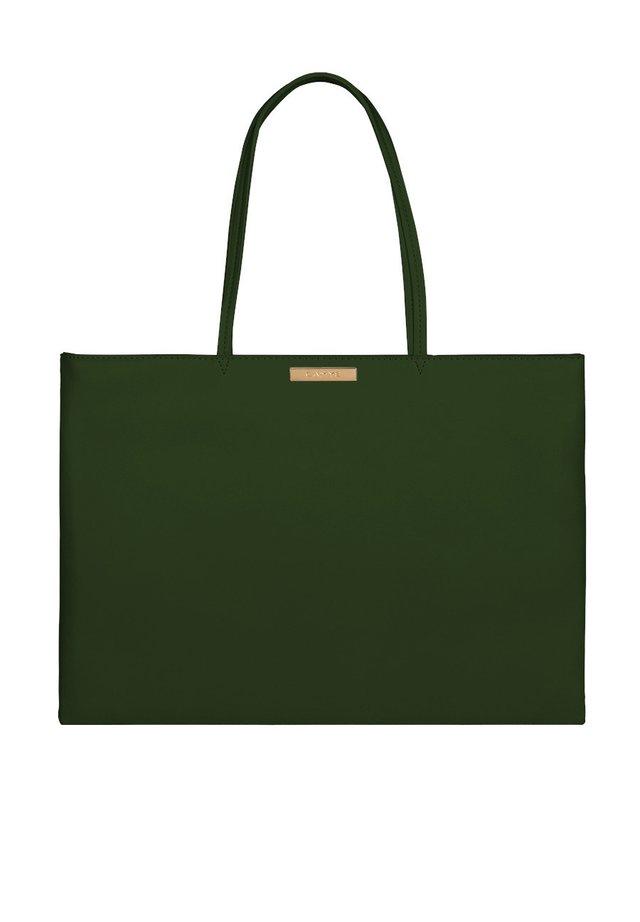 Laptoptas - dunkelgrün