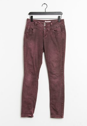 Jeans Tapered Fit - purple