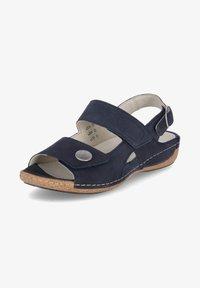 Waldläufer - HELIETT - Sandals - blau - 0
