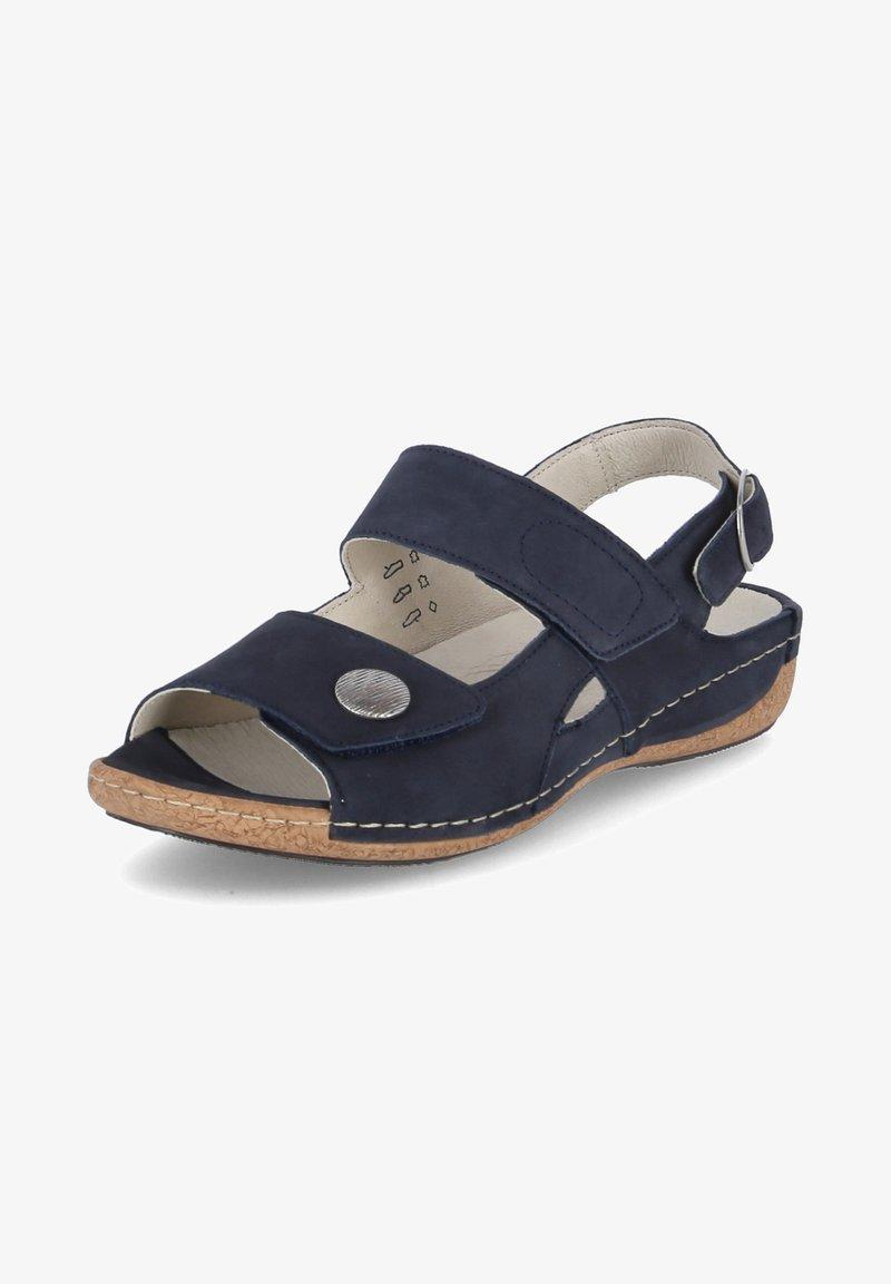 Waldläufer - HELIETT - Sandals - blau
