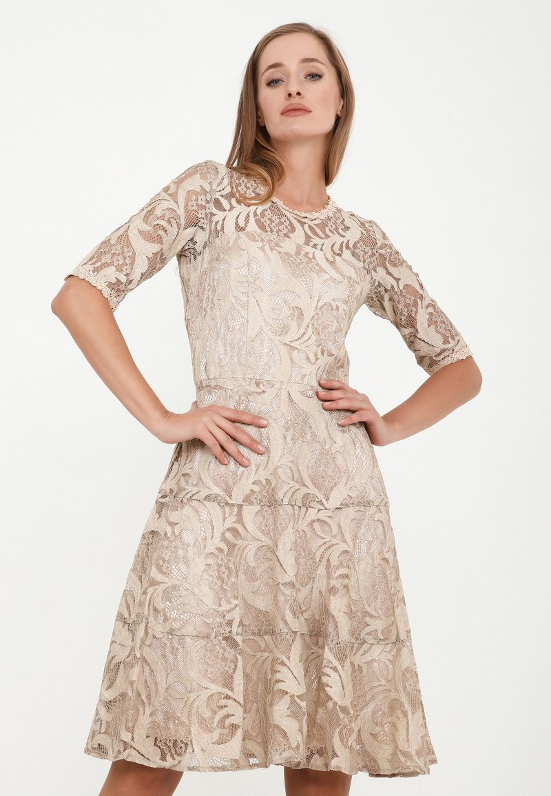 Madam-T - SAPALERI - Cocktail dress / Party dress - beige
