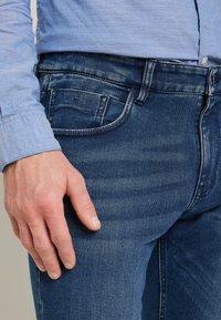 TOM TAILOR - JOSH - Straight leg -farkut - mid stone blue - 4