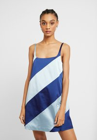 House of Holland - MUTED PANELLED SLIT DRESS - Day dress - blue/navy - 0