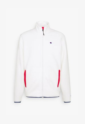 FULL ZIP - Fleece jacket - white
