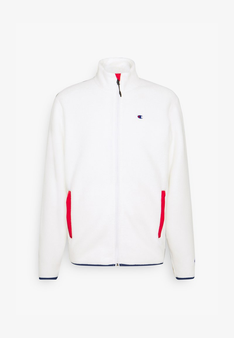 Champion Reverse Weave - FULL ZIP - Fleecejakker - white