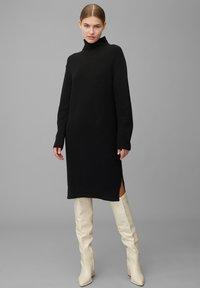 Marc O'Polo PURE - Jumper dress - pure black - 1