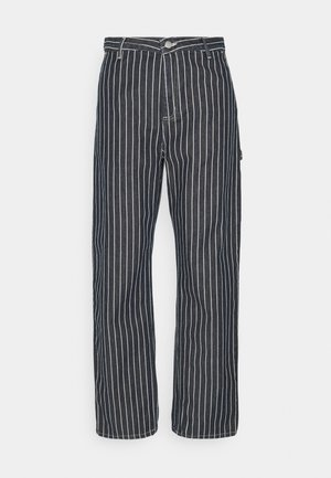TRADE PANT - Relaxed fit jeans - dark navy/wax