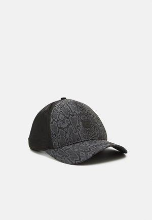 PRINTED BOX PANEL UNISEX - Cap - black
