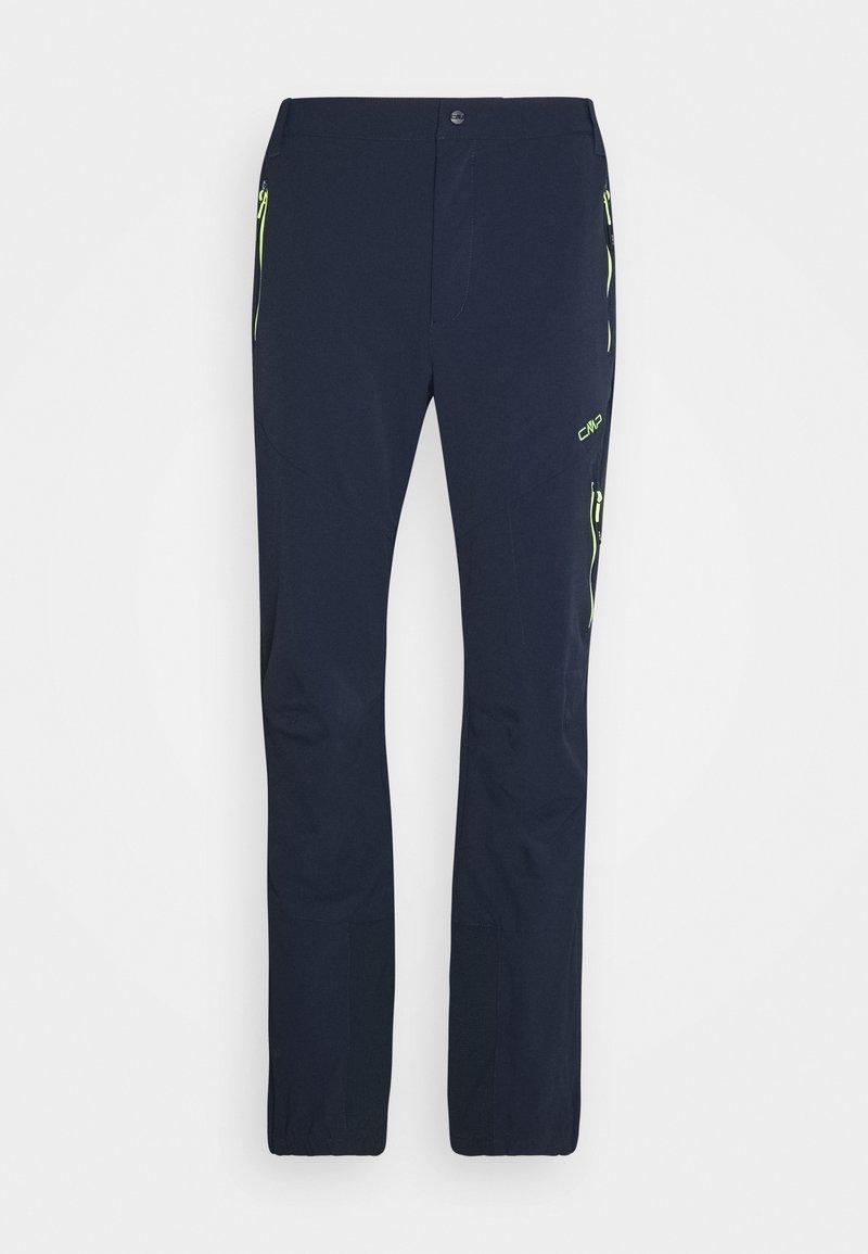 CMP - MAN PANT - Trousers - black blue