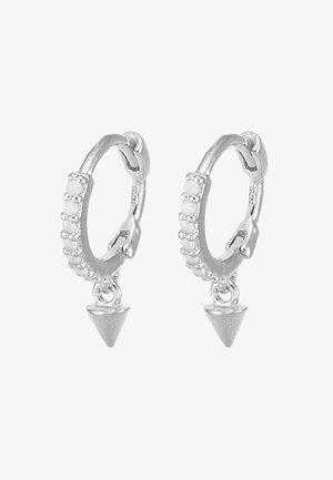MYSTIC SPIKE HUGGIES - Earrings - silver-coloured