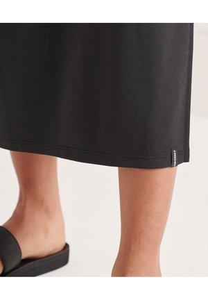 STRAP BACK  - Shift dress - black