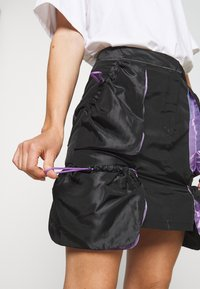 The Ragged Priest - SKIRT GUSSETS - Minihame - black/purple - 3