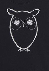 KnowledgeCotton Apparel - LOTUS OWL - Mikina - dark blue - 2