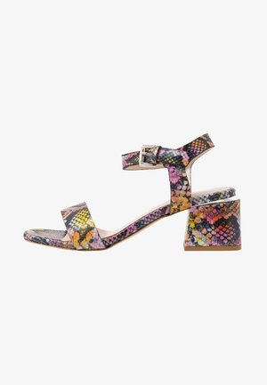 Sandaler - multicolor/rosa