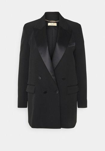 GIACCA BOYFRIEND - Short coat - nero