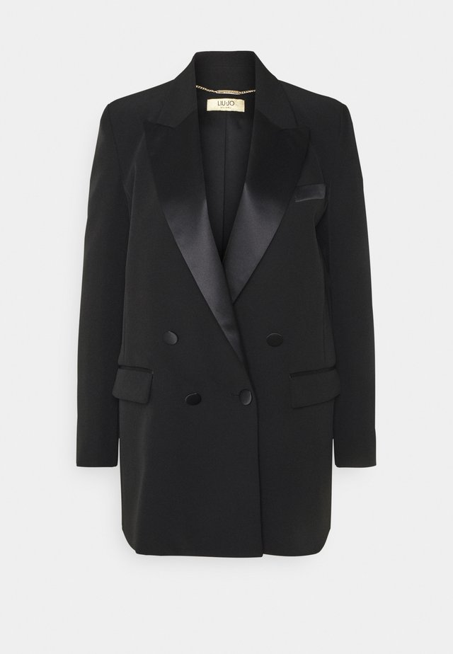 GIACCA BOYFRIEND - Short coat - nero