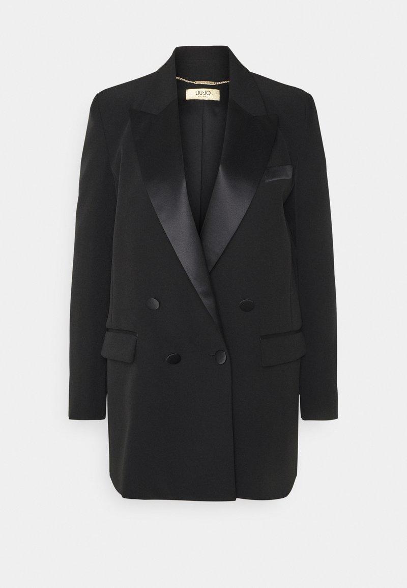 LIU JO - GIACCA BOYFRIEND - Short coat - nero