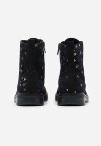 Richter - PRISMA - Lace-up ankle boots - blue - 2