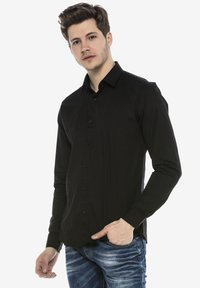 Cipo & Baxx - HECTOR - Formal shirt - schwarz - 4
