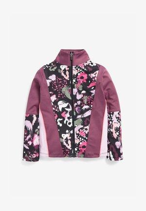 Zip-up hoodie - berry