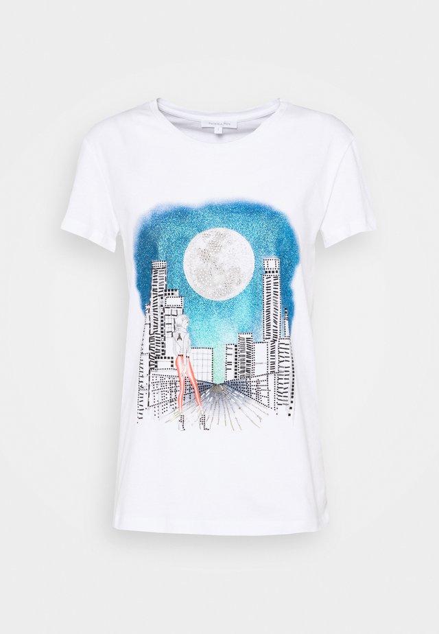 MAGLIA - T-shirt con stampa - bianco