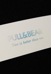 PULL&BEAR - T-shirt basic - black - 8