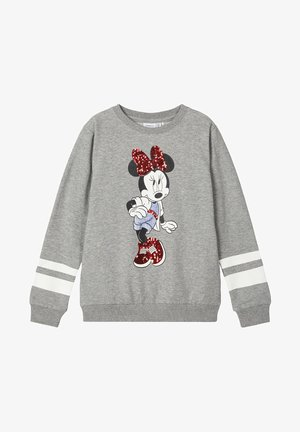 DISNEY MINNIE MOUSE - Bluza - grey melange