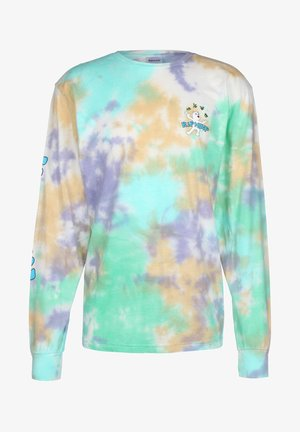 LUCKY CHARMS - Long sleeved top - tie dye wash