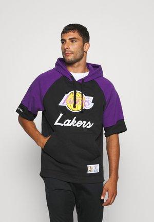 NBA LOS ANGELES LAKERS HOODY - Hoodie - black