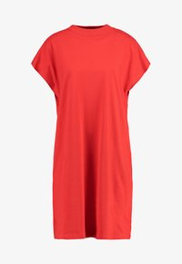 Weekday - PRIME DRESS - Žerzejové šaty - red - 3