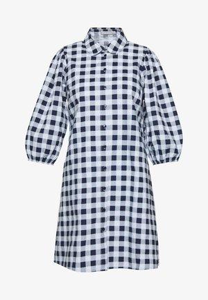 PCMALUKI 3/4 DRESS - Day dress - navy blazer