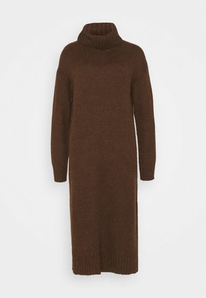 Jumper dress - brown