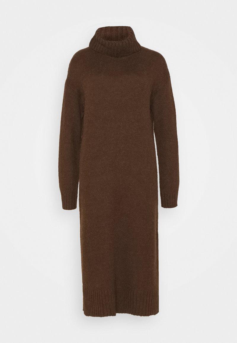 Zign - Strikket kjole - brown