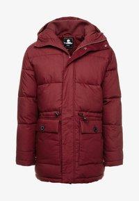 Edwin - Winter coat - ruby wine - 4