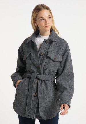 Short coat - grau melange