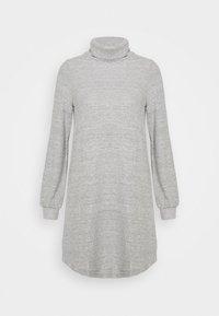 GAP Petite - TURTLENECK DRESS - Sukienka dzianinowa - light grey marle - 4