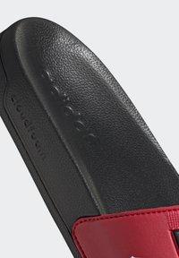 adidas Performance - ADILETTE SHOWER SWIM - Rantasandaalit - black - 9