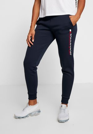 BIG LOGO - Tracksuit bottoms - blue