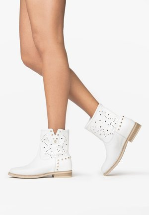 Ankle boots - bianco